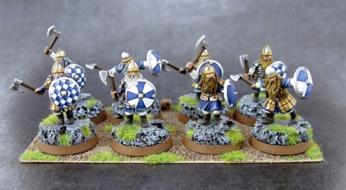 Dwarves with Shields
